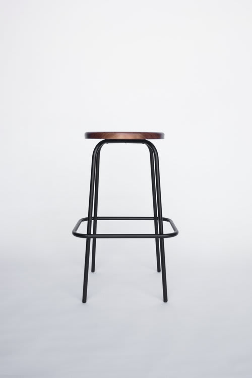 Chairs by Steven Bukowski seen at Flora Bar, New York - Flora Coffee Stool