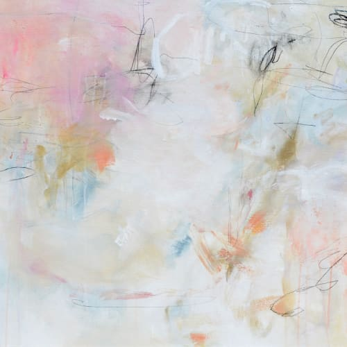 Paintings by Patricia Schwimmer at Private Residence, Palm Beach - Invisible Dream