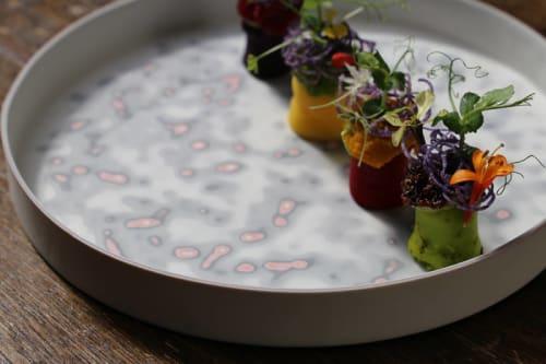 Ceramic Plates by Manos Kalamenios seen at Lima London, London - Porcelain and Ceramics  Plates