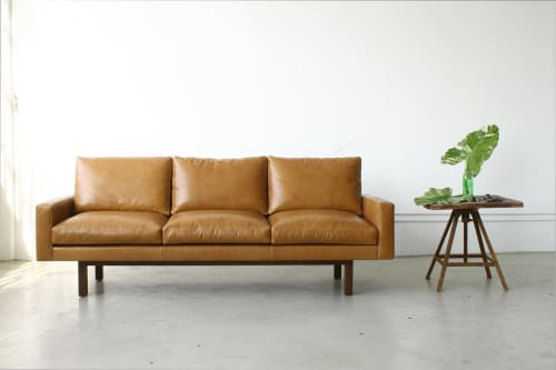 Couches & Sofas by Michael Felix seen at Vans HQ, Costa Mesa - Standard Sofa With Metal Base