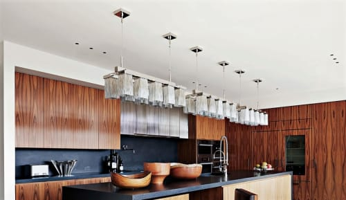 Chandeliers by Brand van Egmond seen at Tribeca Triplex, New York, New York - Chandeliers