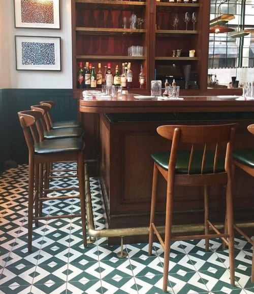 Chairs by Stellar Works seen at Union Square Café, New York - Barstools