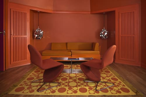 Verner Panton - Lighting and Chairs