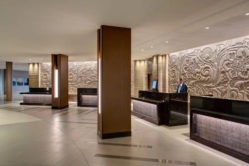 Houston Airport Marriott at George Bush Intercontinental, Hotels, Interior Design