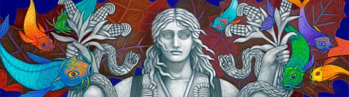 Judithe Hernández - Public Mosaics and Public Art