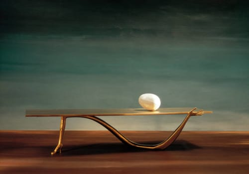 Tables by BD - Barcelona Design seen at The Clift, San Francisco - Salvador Dali's Leda table