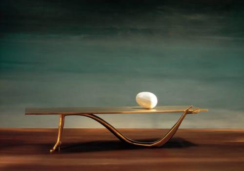 Tables by BD - Barcelona Design seen at The Clift, San Francisco - Salvador Dali's Leda table
