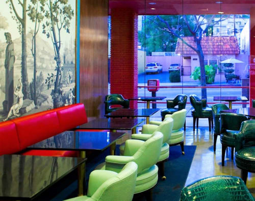 Chairs by Maurice Bailey seen at LAMILL COFFEE Boutique, Los Angeles - Monteverdi-Young Chairs