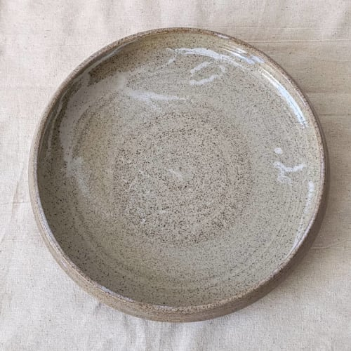 Ceramic Plates by Ceramicsbytiz seen at Private Residence, Tallinn - Wheelthrown Plate