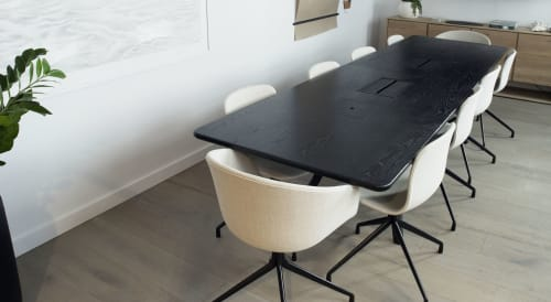 Tables by CBR Studio seen at Brooklyn Office, Brooklyn - Conference Table