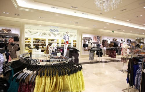 Interior Design by G4 Group at Forever 21, Barcelona - Architectural Design