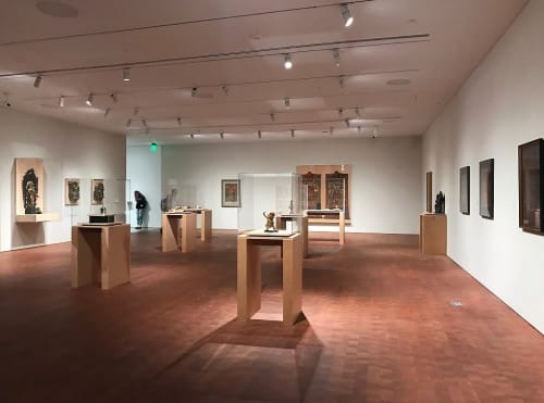 Berkeley Art Museum and Pacific Film Archive, Art Gallery, Interior Design