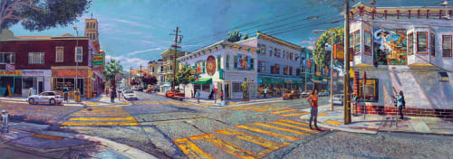 Anthony Holdsworth Studio Gallery - Murals and Street Murals