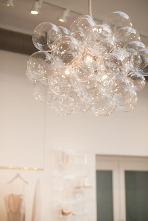 Lighting by The Light Factory seen at Red Herring, Los Angeles - Large Bubble Lamp