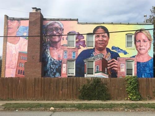 Gaia - Street Murals and Public Art