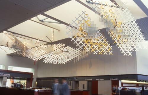 Sculptures by Larry Kirkland at San Francisco International Airport, San Francisco - Flight Patterns