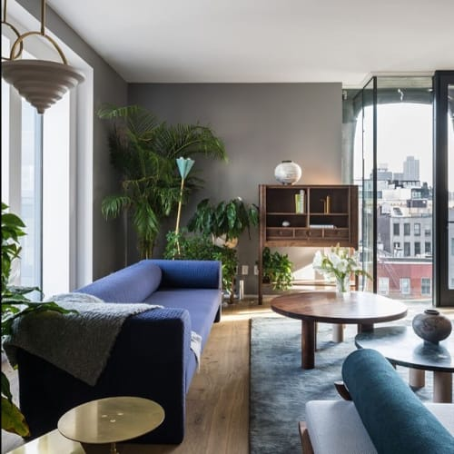 Couches & Sofas by Gentner Design seen at Penthouse in SoHo, NY, New York - Say Sofa