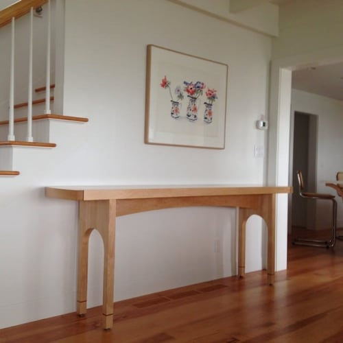 Tables by Mahlon Huston seen at Private Residence, Nantucket - Miller Serving Table
