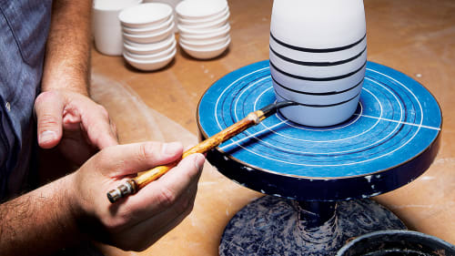 Ceramic Plates and Tableware by Keith Kreeger Studios