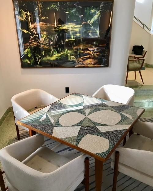 """Tables by Gaspar Saldanha seen at Miami, Florida, Miami - """"Otto"""" Card Table"""