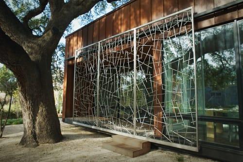 Public Sculptures by John Christensen seen at 2906 Rio Grande, Austin TX, Austin - Rio Grande Screen