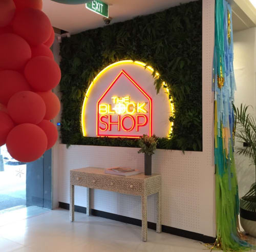 Lighting by Carla O'Brien at The Block Shop Pop Up, Saint Kilda - The Block Shop
