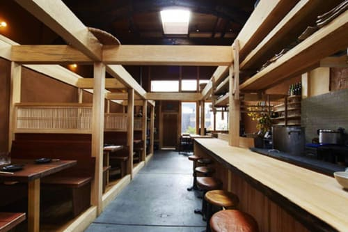 Rintaro, Restaurants, Interior Design