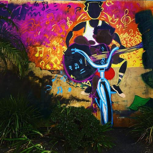 Bank Of America Mural   Street Murals by WHOSVLAD   Bank Of America in Long Beach
