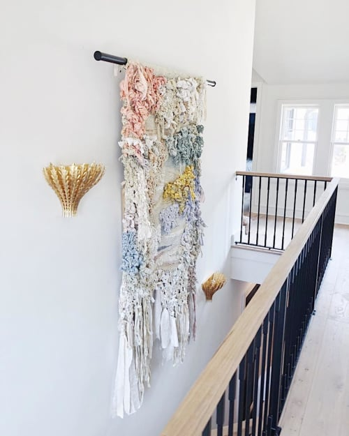 Wall Hangings by Hannah Ehrlich seen at Private Residence, Atlanta - Textile Wall Hanging