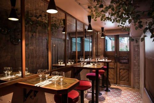 Interior Design by A-nrd seen at Kudu Restaurant, London - Interior Design