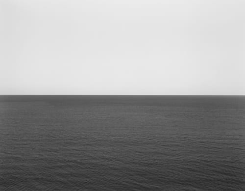 Photography by Hiroshi Sugimoto at 11 Howard, New York - Caribbean Sea, Jamaica, 1980