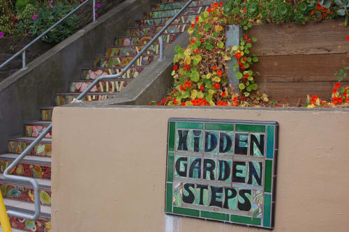 Hidden Garden Steps, 16th Avenue, San Francisco