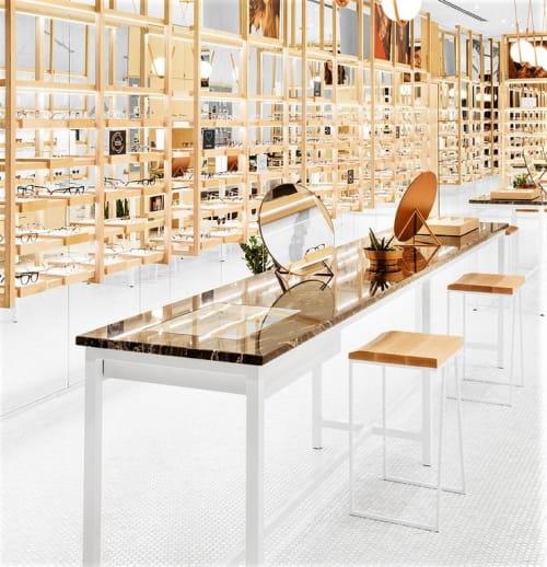 Furniture by Larose Guyon seen at BonLook, Montréal - Cléo Table Mirror