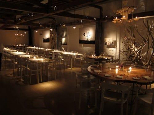 Interior Design by Chris Kofitsas seen at ABC Kitchen, New York - Interior Design