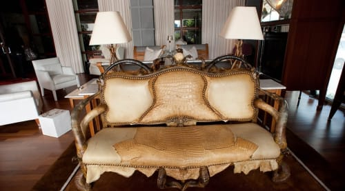 Couches & Sofas by Michel Haillard at SLS Hotel, a Luxury Collection Hotel, Beverly Hills, Los Angeles - Le Salon du Roi