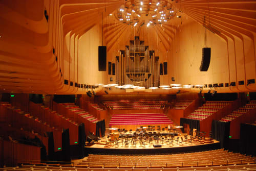 Sydney Opera House, Event Venues, Interior Design