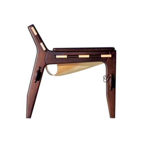 Chairs by Sergio Rodrigues seen at The James New York, New York - Kilin Armchair