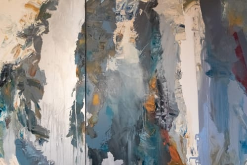 Paintings by John DiPaolo seen at Spruce, San Francisco - Equinox Hanging Garden #32