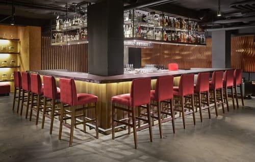 Tables by Arcanum Architecture seen at Roka Akor San Francisco, San Francisco - Roka Bar
