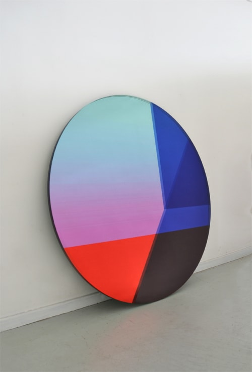Paintings by Sabine Marcelis seen at Figma, San Francisco - Big Round