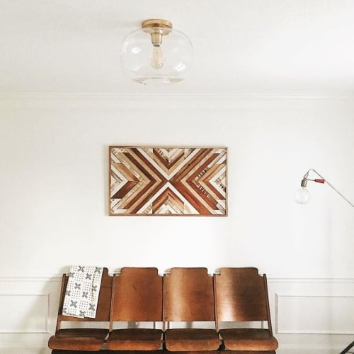 Wall Hangings by Aleksandra Zee at Tyler Kingston Mercantile, North Kansas City - Wood Wall Artwork