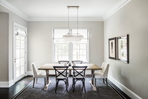 Interior Design by Nina Seed Interiors seen at Private Residence, Westwood - Dining Room Design
