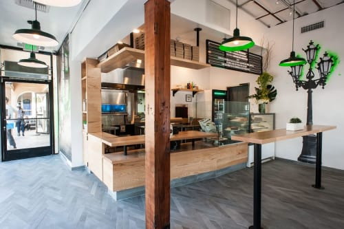 Rugs by MASS Architecture & Design seen at BCN, West Hollywood - Custom Flooring