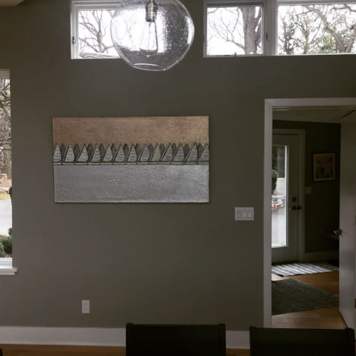 Paintings by Heather Blanton Fine Art seen at Private Residence - Sailboat