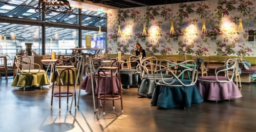 Chairs by atelier oï seen at tibits Luzern, Luzern - Oasis