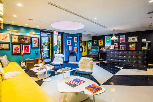 The Verb Hotel, Hotels, Interior Design