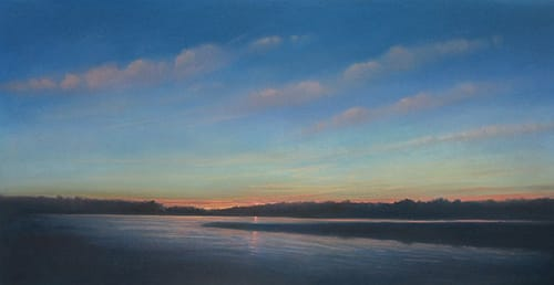 Paintings by Donna Levinstone seen at Private Residence, New York - Setting Sun 1