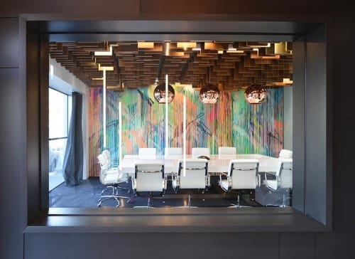 Art & Wall Decor by Rowena Martinich seen at Time Architects Pty Ltd, Carlton - Time Architects