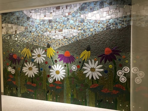 Public Mosaics by Sheryl Tuorila seen at Minneapolis–Saint Paul International Airport (MSP) - MSP Airport Prairie