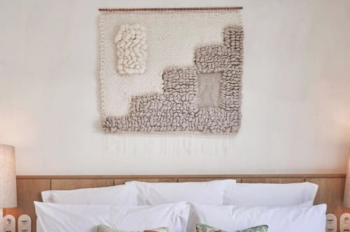 Wall Hangings by Maryanne Moodie seen at Little Beach House Barcelona, Garraf - SoHo House Woven Wall Hanging - Stair
